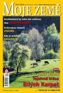 obálka časopisu Moje země