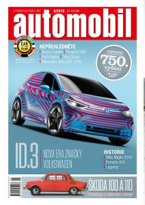 obálka časopisu Automobil Revue
