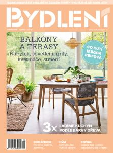 obálka časopisu Bydlení