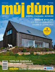 obálka časopisu Můj dům