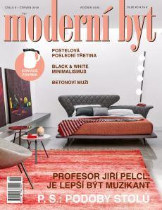 obálka časopisu Moderní byt