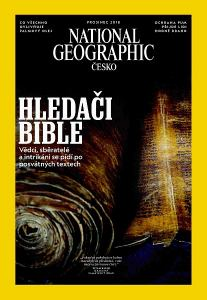 obálka časopisu National Geographic