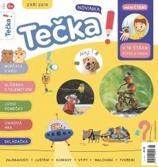 obálka časopisu Tečka!