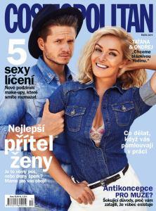 obálka časopisu Cosmopolitan