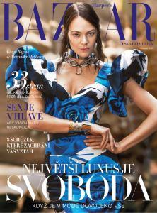 obálka časopisu Harper´s Bazaar