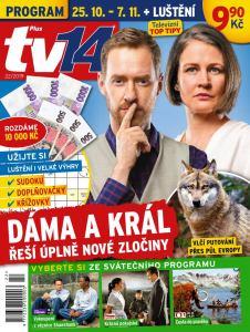 obálka časopisu TV Plus 14