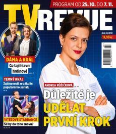 obálka časopisu TV Revue