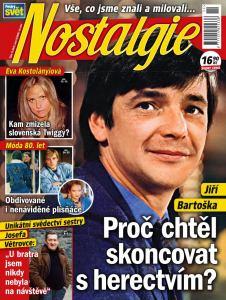 obálka časopisu Nostalgie