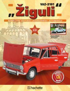 obálka časopisu VAZ - 2101 Žiguli Hachette