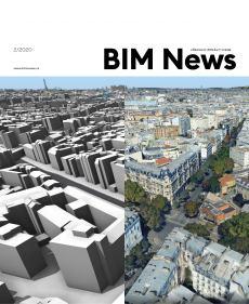 obálka časopisu BIM News