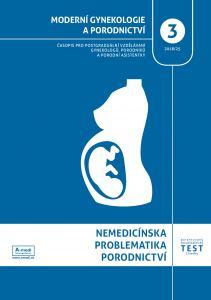 obálka časopisu Moderní gynekologie a porodnictví