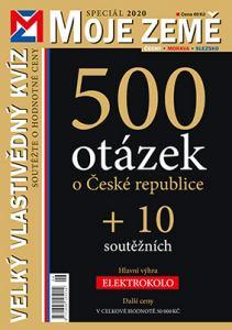obálka časopisu Moje země - speciály