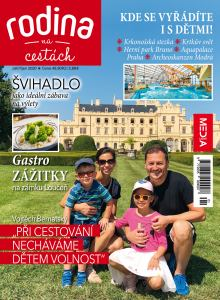 obálka časopisu Rodina na cestách