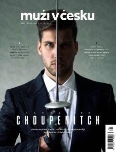 obálka časopisu Muži v Česku