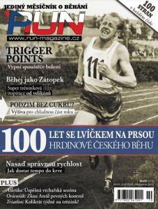 obálka časopisu RUN