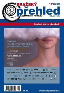 obálka časopisu Pražský přehled kulturních pořadů