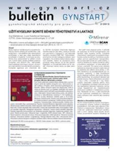 obálka časopisu Bulletin Gynstart