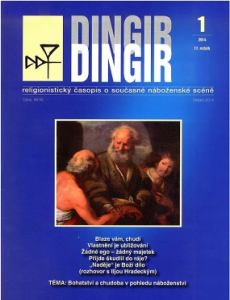 obálka časopisu DINGIR