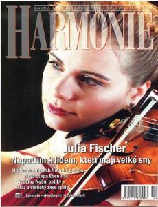 obálka časopisu Harmonie