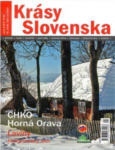 obálka časopisu Krásy Slovenska