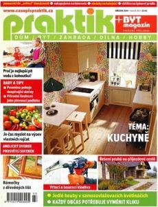 obálka časopisu Byt magazín/Praktik