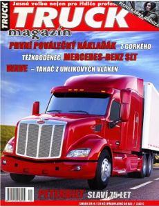 obálka časopisu Truck magazín