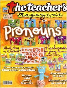 obálka časopisu The Teachers Magazine