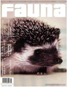 obálka časopisu Fauna
