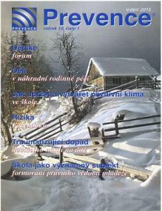 obálka časopisu Prevence