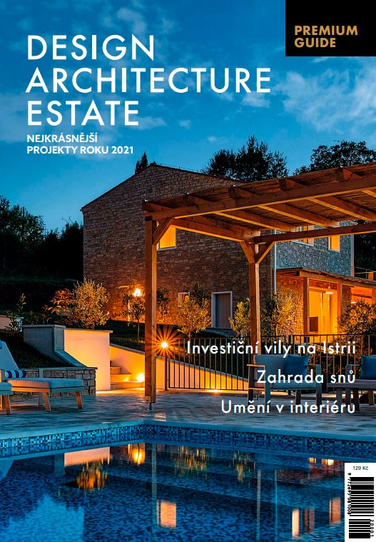 obálka časopisu Premium Guide Design, Estate, Architektura 2020