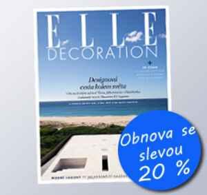 ED15VR (383,-/4 čísla) - dárek k předplatnému časopisu Elle Decoration
