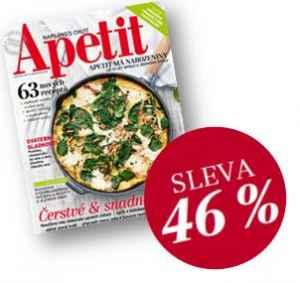 AP17VR_0 (12 čísel) - dárek k předplatnému časopisu Apetit