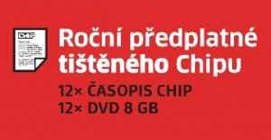 Akce CHIP ti¹tìné s heslem - dárek k pøedplatnému èasopisu Chip