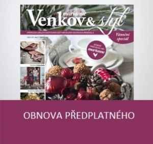 MV16VR_N (373,-/8 čísel) - dárek k předplatnému časopisu Marianne Venkov & styl