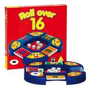 Stolní hra Roll Over 16 - dárek k pøedplatnému èasopisu Rodina a ©kola