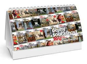 Předplatné + kalendář - dárek k předplatnému časopisu Dějiny a současnost