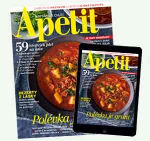 AP18Dig12 (599,-/12 čísel) - dárek k předplatnému časopisu Apetit