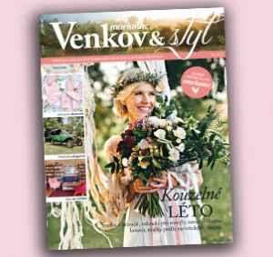 MV17ST (474,-/8 čísel) - dárek k předplatnému časopisu Marianne Venkov & styl