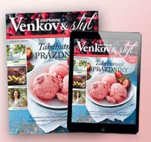 MV17Dig (554,-/8 čísel) - dárek k předplatnému časopisu Marianne Venkov & styl