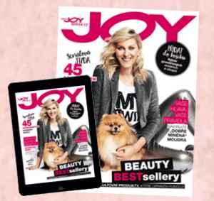 JOY17Dig12 (415,-/12 čísel) - dárek k předplatnému časopisu Joy