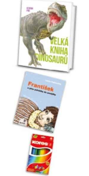 DRA 1702C Dvì knihy+pastelky - dárek k pøedplatnému èasopisu DRÁÈEK