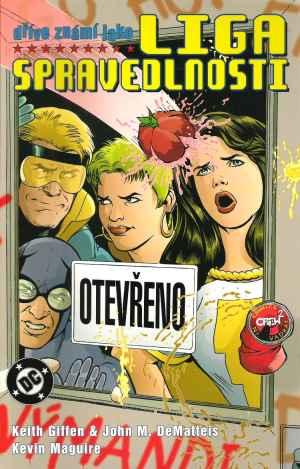 Komiks Liga Spravedlnosti - dárek k pøedplatnému èasopisu Score DVD