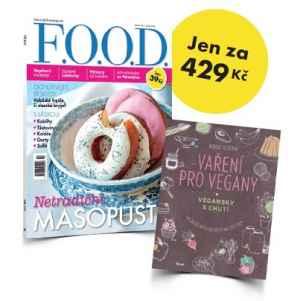 FOOD 0417S Vaøení pro vegany - dárek k pøedplatnému èasopisu F.O.O.D.