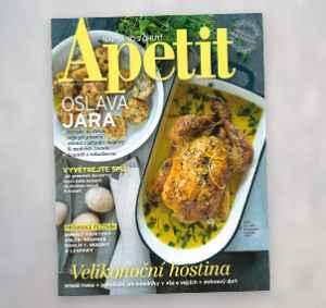 AP1704_12 (479,-/12 čísel) - dárek k předplatnému časopisu Apetit