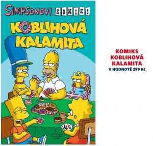 MAT 0417 Komiks Simpsonovi - dárek k předplatnému časopisu Mateřídouška
