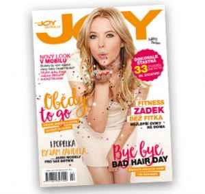 JOY1705_12 (319,-/12 čísel) - dárek k předplatnému časopisu Joy