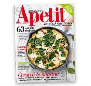 AP1705_12 (479,-/12 čísel) - dárek k předplatnému časopisu Apetit