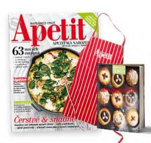 AP1705 (599,-/12 čísel) - dárek k předplatnému časopisu Apetit