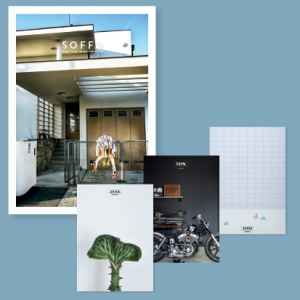 Set of three posters - dárek k předplatnému časopisu SOFFA in English
