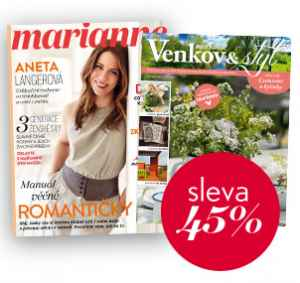 MV17MD (809,-/2 tituly) - dárek k předplatnému časopisu Marianne Venkov & styl